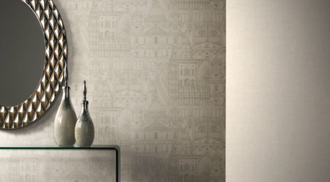 SK Filson London City Stone Wallpaper