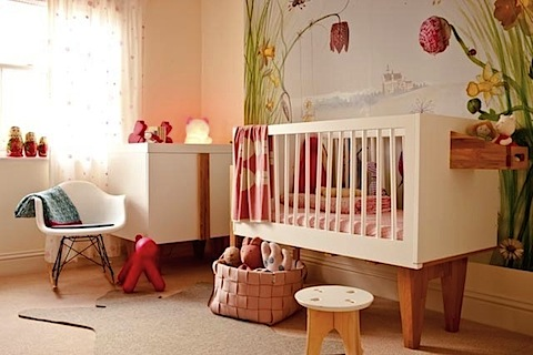 Ideas for decorating with nursery wallpaper